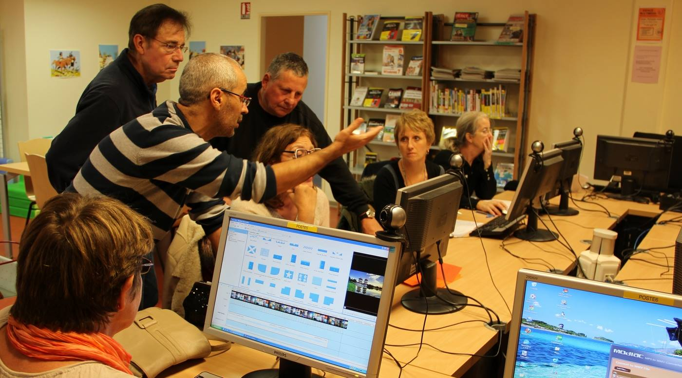 Multimédia pour tous : Atelier internet et bureautique |