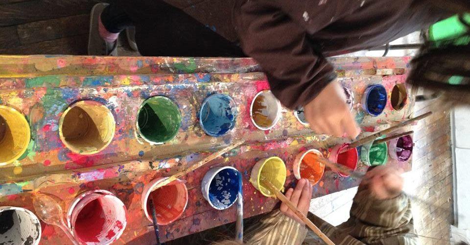 Les petits ateliers artistiques du mercredi « Peinture » |