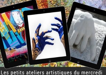 Les petits ateliers artistiques du mercredi « Numérique »  
